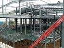 iyi kalite Bina Çelik Çerçeve & Multi - Floor Building Steel Frame Fabrication With Aluminum Alloy Window\ Satılık