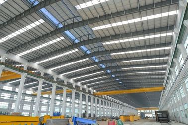Çin Alkyd Paint Tubular Steel Structures With AWS , BS , EN , ISO Certificate Distribütör